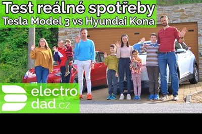 Souboj dojezdů: Tesla Model 3 vs. Hyundai Kona Electric